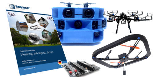 Discover the variety of possibilities with intelligent autonomous flight robot technology in our new catalogue including all our innovative solutions!